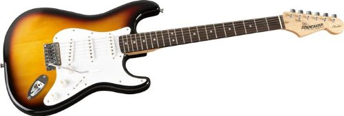 fender starcaster start electric guitar starter pack sunburst guitar stuff now shopping. Black Bedroom Furniture Sets. Home Design Ideas