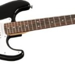 fender starcaster strat pack electric guitar with amp and accessories black guitar stuff now. Black Bedroom Furniture Sets. Home Design Ideas
