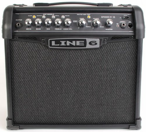 line 6 spider iv 15 15 watt 1 8 modeling guitar amplifier guitar stuff now shopping. Black Bedroom Furniture Sets. Home Design Ideas