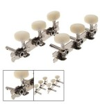 Classical Guitar Silver Tone Screw Type Tuning Key Tuner