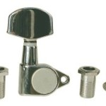 Golden Gate F-2060 Acoustic Guitar Tuning Machine (Solid Peghead)