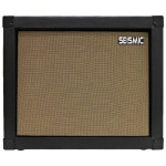 Seismic Audio – 1×12 GUITAR SPEAKER CAB EMPTY – 7 Ply Birch – 12″ Speakerless Cabinet – Black Tolex – Wheat Cloth Grill – Front or Rear Loading Options