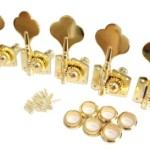 Surfing Gold Bass Guitar 6R Machine Heads Knobs Tuners tuning pegs