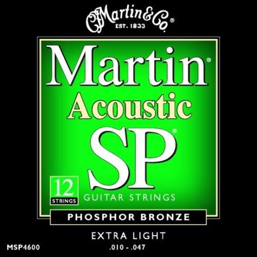 12 String Guitar Strings Extra Light : martin sp acoustic 12 string set phosphor bronze guitar strings extra light msp4600 010 047 ~ Hamham.info Haus und Dekorationen
