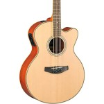 Yamaha CPX700II-12 12-String Cutaway Acoustic-Electric Guitar – Natural