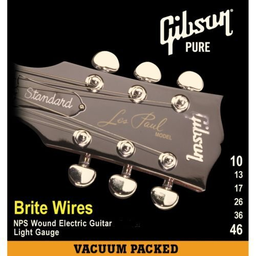 gibson brite wires electric guitar strings ultra light 9 42 guitar stuff now shopping. Black Bedroom Furniture Sets. Home Design Ideas