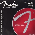 Fender Nickel Plated Bass Guitar Strings, Medium