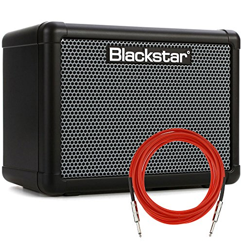 Blackstar FLY3 BASS 3-Watt 1-Channel Solid-State 1×3″ Bass Combo Amplifier with Overdrive + Cable