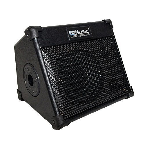 Coolmusic BP20S Portable Powered Battery Amplifier with Bluetooth, Acoustic Guitar Amplifier Keyboard Amplifier and Sound Speaker