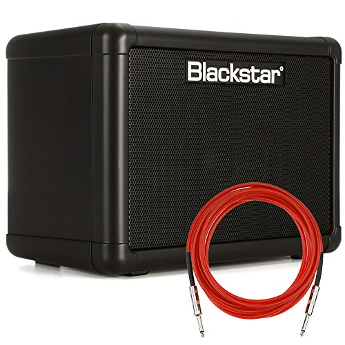 Blackstar FLY3 3-Watt 2-Channel Solid-State 1×3″ Guitar Combo Amplifier with Overdrive + Cable