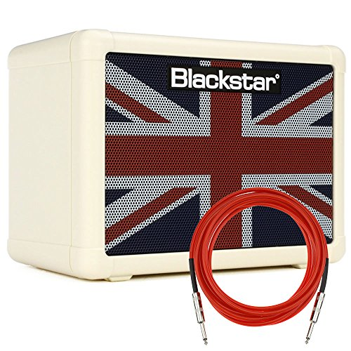 Blackstar FLY3 Union Flag 3-Watt 2-Channel Solid-State 1×3″ Guitar Combo Amplifier with Overdrive + Cable