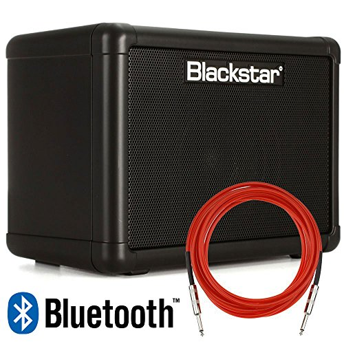 Blackstar FLY3 Bluetooth 3-Watt 2-Channel Solid-State 1×3″ Guitar Combo Amplifier with Overdrive + Cable