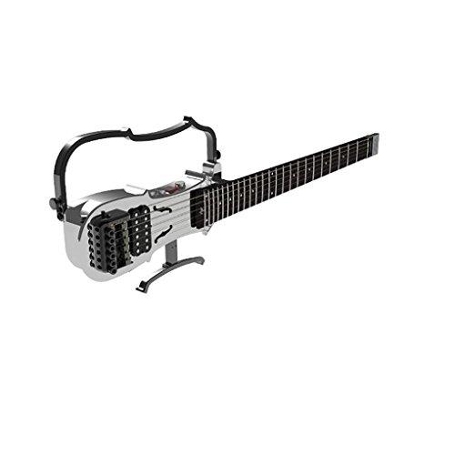 ALP DR100 Black 30 Inch CNC Aluminum Alloy Body Travel Electronic Guitar