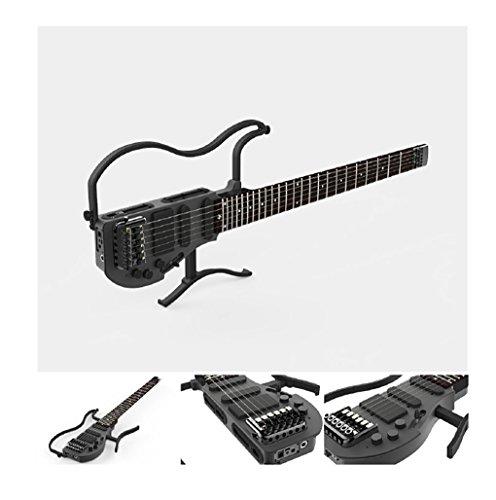 ALP AD-80 Bolt on 30 inch Classic CNC Aluminum Alloy Body Travel Electronic Headless Practice Guitar