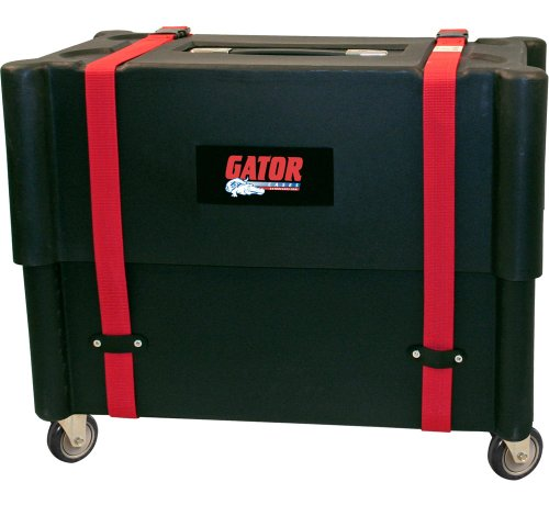 Gator Cases Molded Plastic 2×12 Combo Amp Transporter and Stand