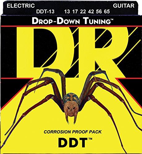 DR Strings DDT-13 Nickel Plated Electric Guitar Strings, Custom