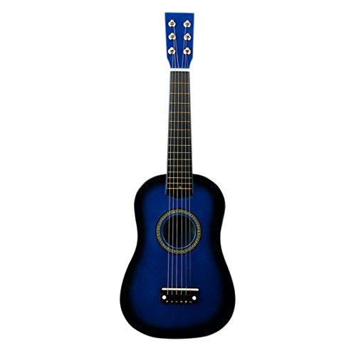 Blueseason Kids Guitar New Mini 23″ Beginners Student Children Classical Acoustic Guitar, Blue